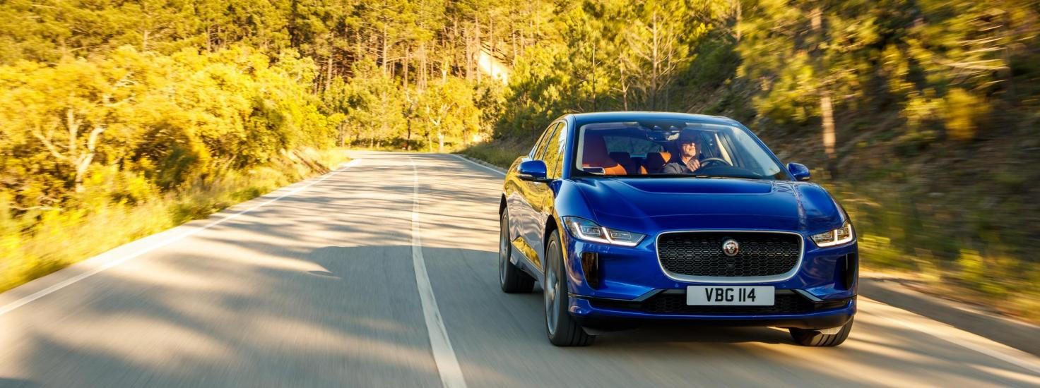 Jaguar Is Taking Aim At The German Taxi Market Dominated By Mercedes Benz As It Delivers Ten I Pace Models To Operators In Munich