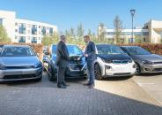 Businessmen and EVs